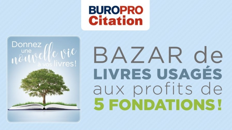 Bazar de livres | Buropro Citation